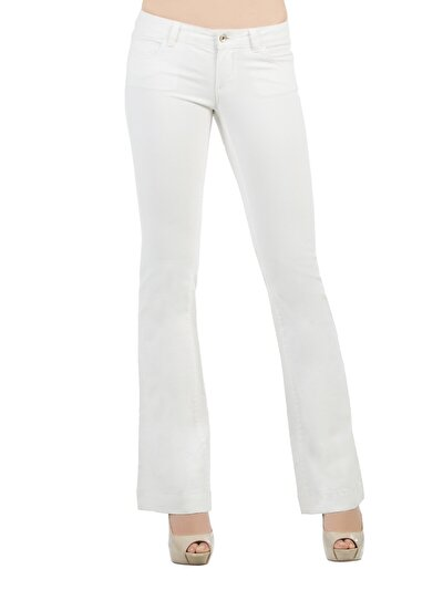 COLINS белый женский брюки<br>Пол: женский; Цвет: белый; Размер INT: 29/34;