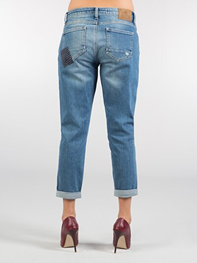 COLINS деним женский брюки<br>Пол: женский; Цвет: lucca wash; Размер INT: 28;