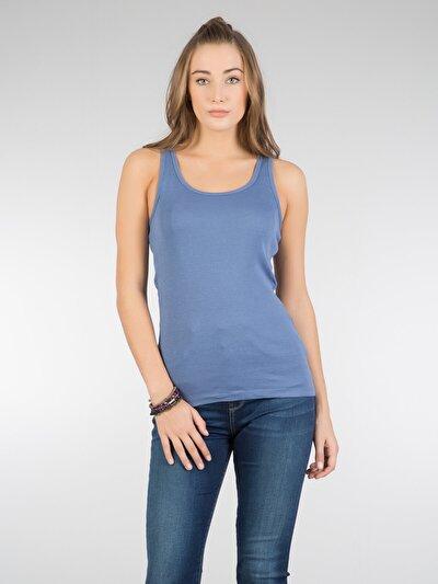 COLINS голубой <br>Пол: женский; Цвет: индиго; Размер INT: XS;