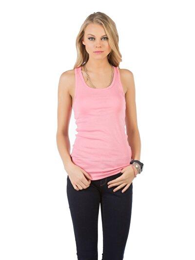 COLINS розовый женский майки<br>Пол: женский; Цвет: карамельно-розовый; Размер INT: M;