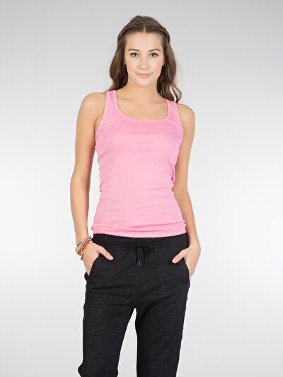 COLINS розовый женский майки<br>Пол: женский; Цвет: розовый; Размер INT: S;