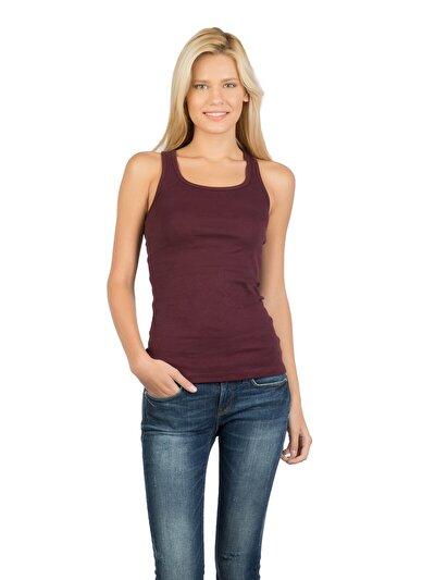 COLINS пурпурный женский майки<br>Пол: женский; Цвет: сливовый; Размер INT: XS;