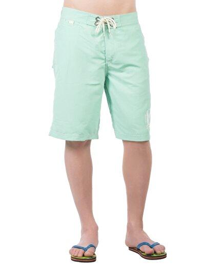 COLINS зеленый мужской пляжные шорты<br>Пол: мужской; Цвет: зеленая мята; Размер INT: L;
