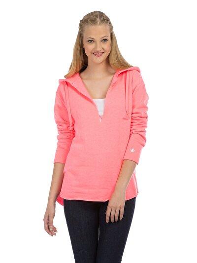 COLINS розовый женский толстовки<br>Пол: женский; Цвет: неоново-розовый; Размер INT: XS;