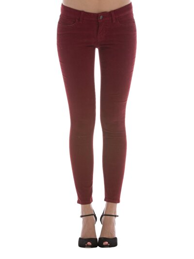 COLINS бордовый женский брюки<br>Пол: женский; Цвет: бордовый; Размер INT: 26/32;