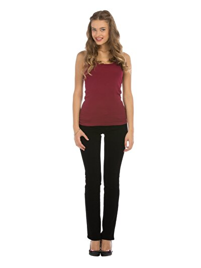 COLINS черный женский брюки<br>Пол: женский; Цвет: вельвет вегас уош; Размер INT: 26/34;