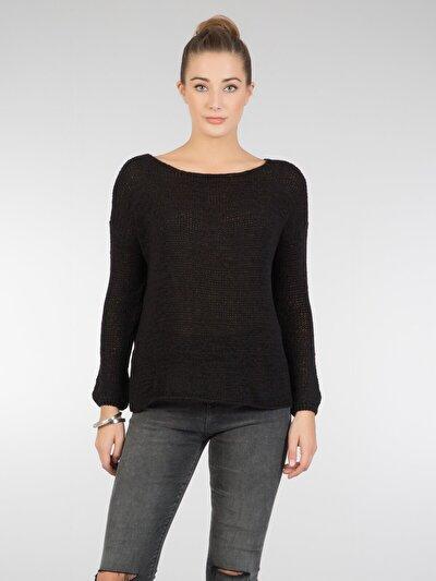 COLINS черный женский свитеры<br>Пол: женский; Цвет: черный; Размер INT: M/L;