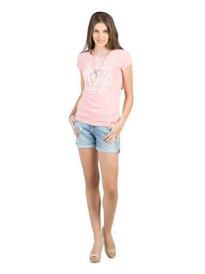 COLINS деним женский шорты<br>Пол: женский; Цвет: лайт десса уош; Размер INT: 34;