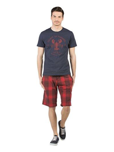 COLINS красный мужской шорты<br>Пол: мужской; Цвет: красный; Размер INT: M;