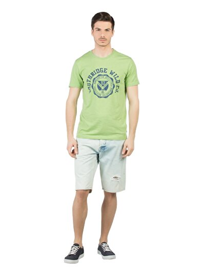 COLINS деним мужской шорты<br>Пол: мужской; Цвет: лайт джон уош; Размер INT: M;