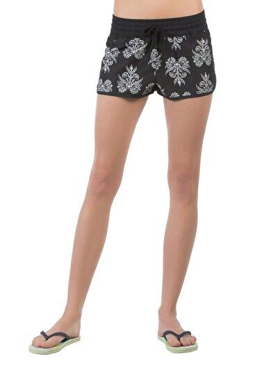 COLINS черный женский пляжные шорты<br>Пол: женский; Цвет: черный; Размер INT: M;