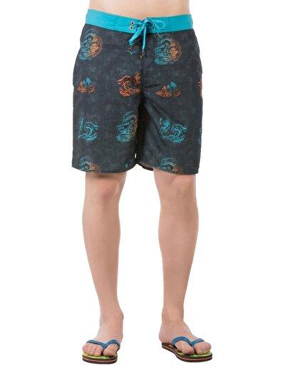 COLINS черный мужской пляжные шорты<br>Пол: мужской; Цвет: черный; Размер INT: M;