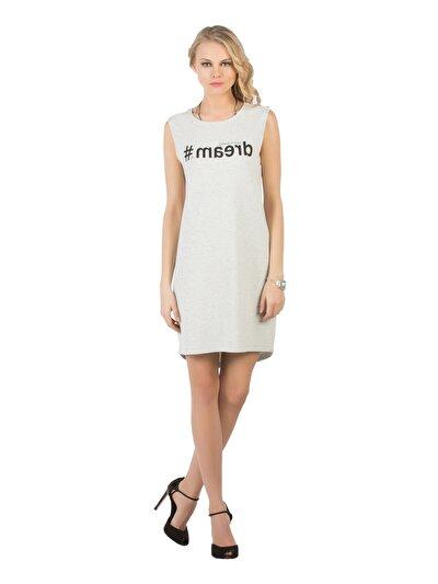 COLINS серый женский платья<br>Пол: женский; Цвет: смешанный серый; Размер INT: M;