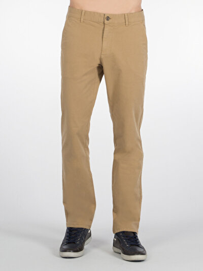 COLINS бежевый мужской брюки<br>Пол: мужской; Цвет: бежевый; Размер INT: 33/32;