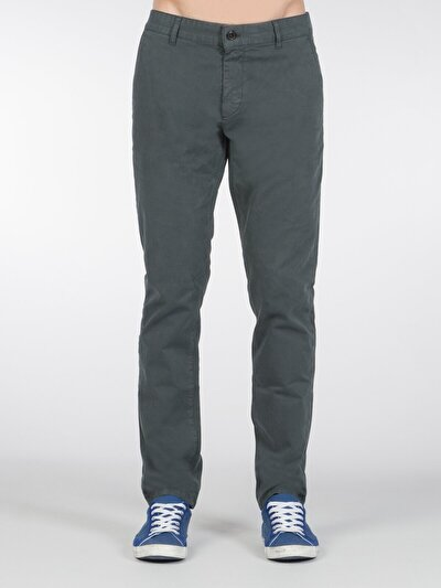 COLINS зеленый мужской брюки<br>Пол: мужской; Цвет: темный зеленый; Размер INT: 32/32;