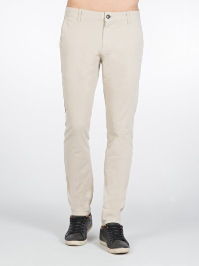 COLINS белый мужской брюки<br>Пол: мужской; Цвет: каменный; Размер INT: 32/32;