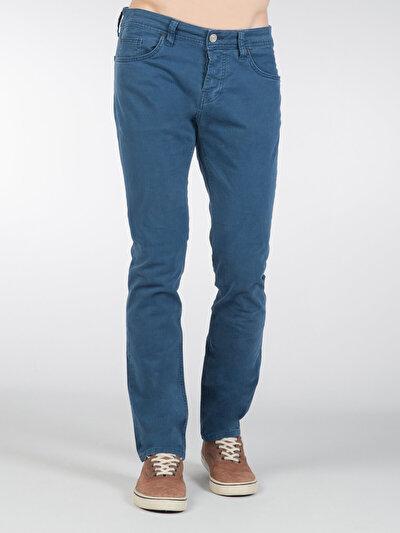 COLINS голубой <br>Пол: мужской; Цвет: индиго; Размер INT: 32/34;