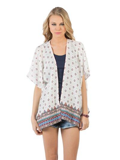 COLINS белый женский рубашки короткий рукав<br>Пол: женский; Цвет: белый; Размер INT: M/L;