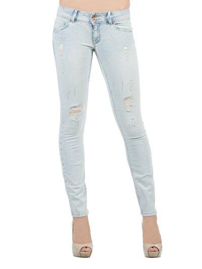 COLINS  женский брюки<br>Пол: женский; Цвет: тиффани мытье; Размер INT: 30/32;