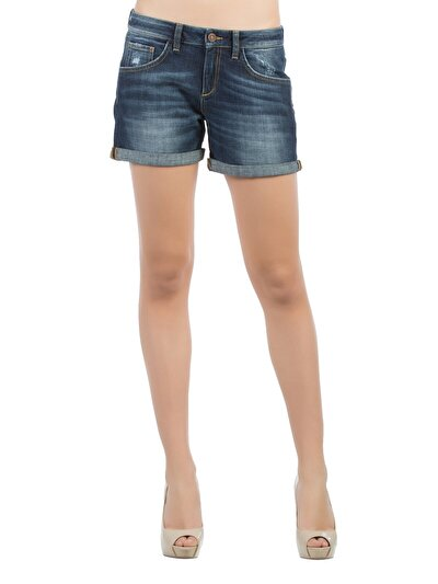 COLINS деним женский шорты<br>Пол: женский; Цвет: блич фарах уош; Размер INT: 40;