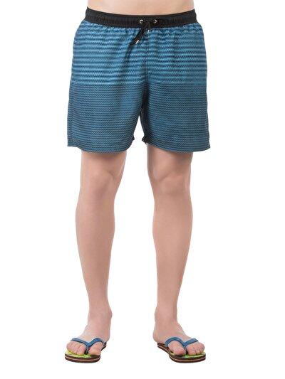COLINS черный мужской пляжные шорты<br>Пол: мужской; Цвет: черный; Размер INT: XL;