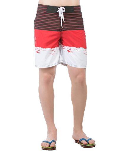 COLINS красный мужской пляжные шорты<br>Пол: мужской; Цвет: красный; Размер INT: L;