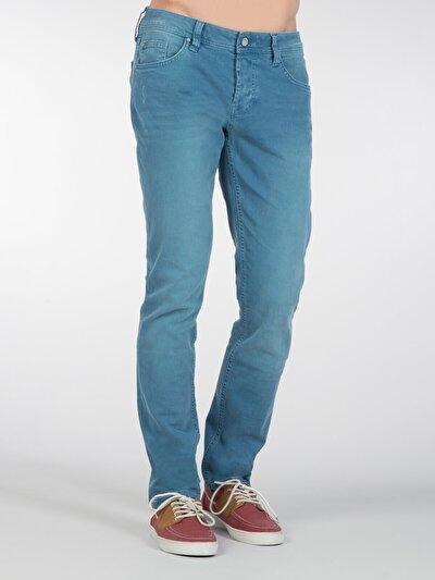 COLINS голубой <br>Пол: мужской; Цвет: индиго; Размер INT: 31/32;
