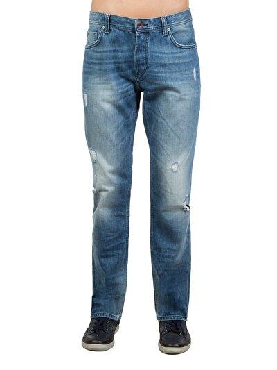 COLINS деним мужской брюки<br>Пол: мужской; Цвет: лайт сагор уош; Размер INT: 34/34;