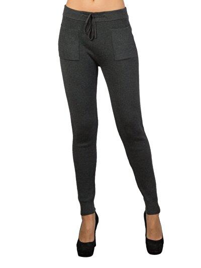 COLINS антрацит женский спортивные брюки<br>Пол: женский; Цвет: смешанный антрацит; Размер INT: XS;