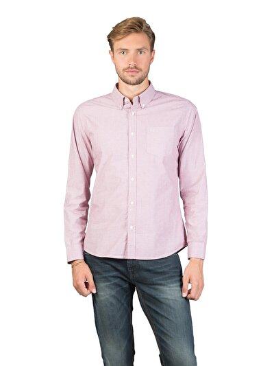 COLINS розовый мужской рубашки длинний рукав<br>Пол: мужской; Цвет: рос пинк; Размер INT: L;