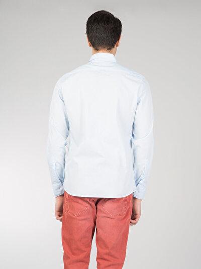 COLINS голубой <br>Пол: мужской; Цвет: голубой; Размер INT: L;