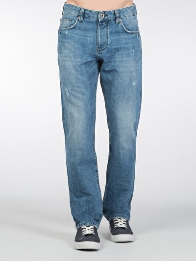 COLINS деним мужской брюки<br>Пол: мужской; Цвет: swem wash; Размер INT: 34/32;