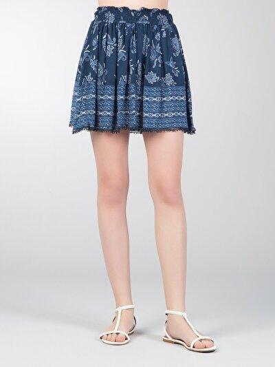 COLINS синий женский юбки<br>Пол: женский; Цвет: синий; Размер INT: XS;
