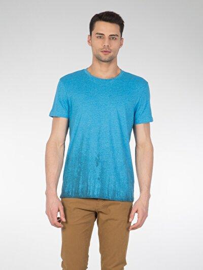 COLINS голубой <br>Пол: мужской; Цвет: голубой меланж; Размер INT: M;