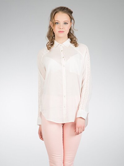 COLINS розовый женский рубашки длинний рукав<br>Пол: женский; Цвет: розовый; Размер INT: XS;