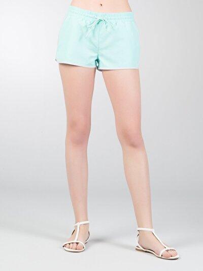 COLINS  женский пляжные шорты<br>Пол: женский; Цвет: мята; Размер INT: XS;