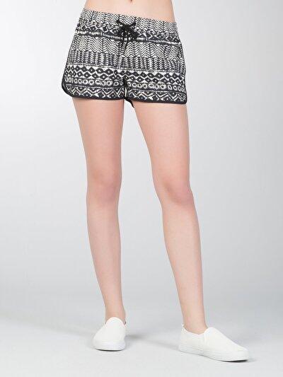 COLINS черный женский пляжные шорты<br>Пол: женский; Цвет: черный; Размер INT: XL;