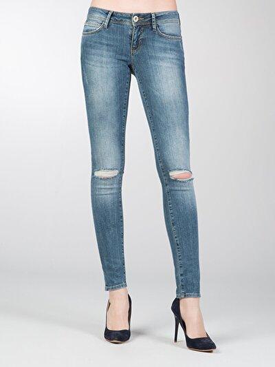 COLINS деним женский брюки<br>Пол: женский; Цвет: сидней уош; Размер INT: 25/30;