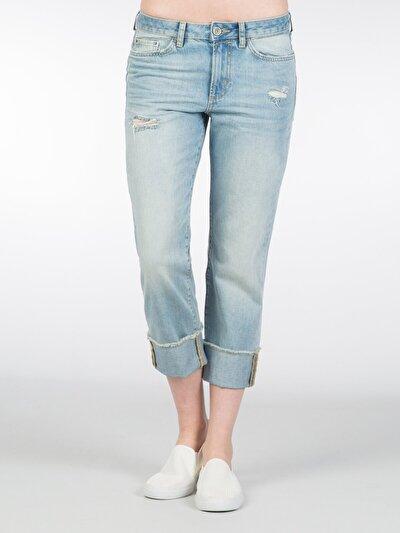 COLINS  женский брюки<br>Пол: женский; Цвет: фог мытый; Размер INT: 25;