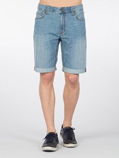 COLINS деним мужской шорты<br>Пол: мужской; Цвет: лайт фелиз уош; Размер INT: XXL;