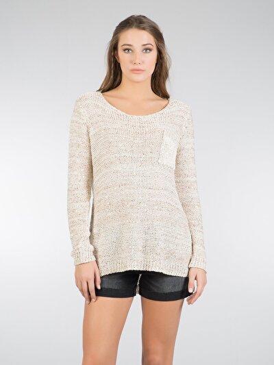 COLINS каменный женский свитеры<br>Пол: женский; Цвет: смешанный каминь; Размер INT: XS/S;