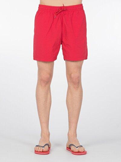 COLINS красный мужской пляжные шорты<br>Пол: мужской; Цвет: красный; Размер INT: S;