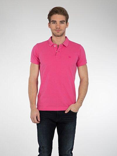 COLINS розовый мужской футболки-поло к. рукав<br>Пол: мужской; Цвет: розовый; Размер INT: M;