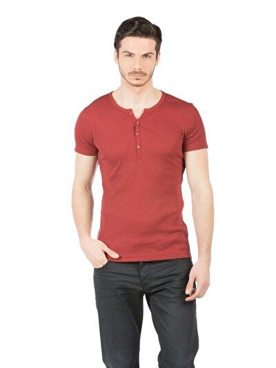 COLINS красный мужской футболки короткий рукав<br>Пол: мужской; Цвет: кирпичный; Размер INT: M;