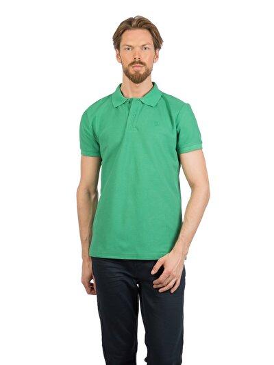 COLINS зеленый мужской футболки-поло к. рукав<br>Пол: мужской; Цвет: зеленый; Размер INT: M;