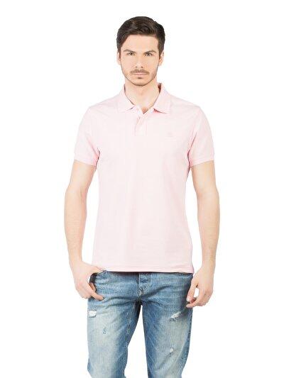 COLINS розовый мужской футболки-поло к. рукав<br>Пол: мужской; Цвет: розовый; Размер INT: XXL;