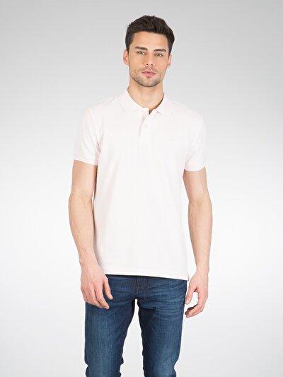 COLINS розовый мужской футболки-поло к. рукав<br>Пол: мужской; Цвет: светло-розовый; Размер INT: S;