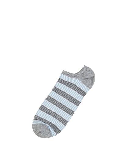 COLINS серый мужской носки<br>Пол: мужской; Цвет: смешанный серый; Размер INT: STND;