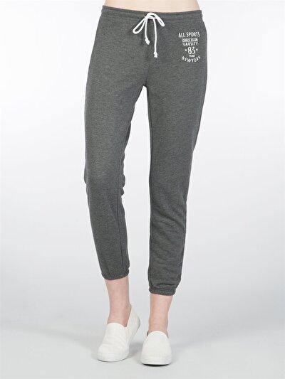 COLINS антрацит женский спортивные брюки<br>Пол: женский; Цвет: смешанный антрацит; Размер INT: M;
