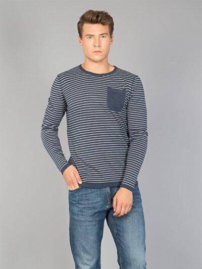 COLINS синий мужской свитеры<br>Пол: мужской; Цвет: синий; Размер INT: S;